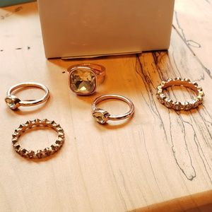 Premier Designs Sienna stacked ring set Limited
